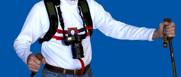 Keyhole Hands-Free Camera Harness Review - Banner