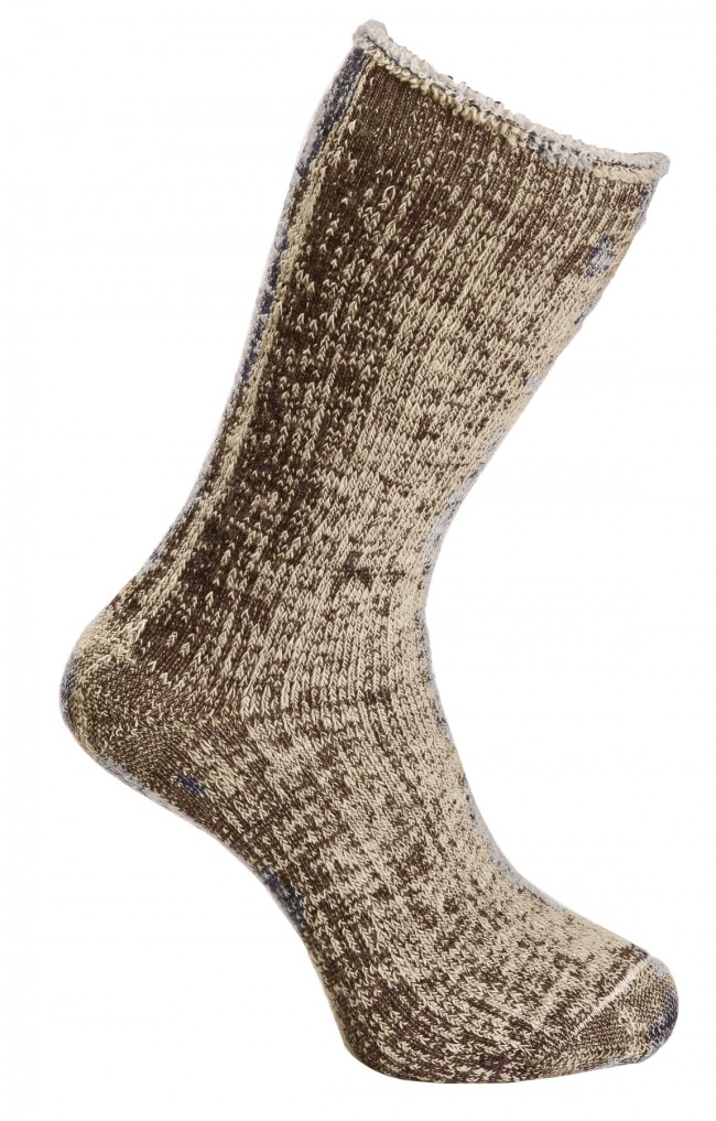 Cappuccino Marle - Wilderness Wear Merino Socks
